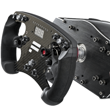 Fanatec Clubsport V2 Wheelbase with Carbon Formula Wheel