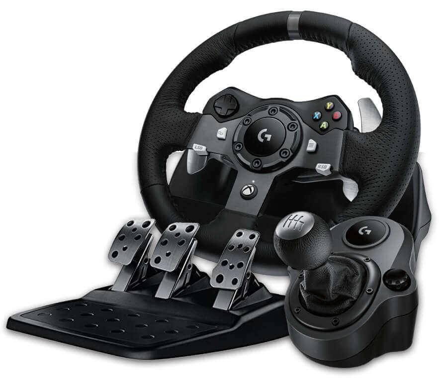 GT Logitech G920 Wheel, Pedals, Shifter