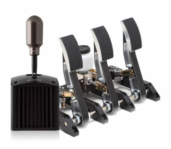 HPP SE Pedals and Fanatec Shifter