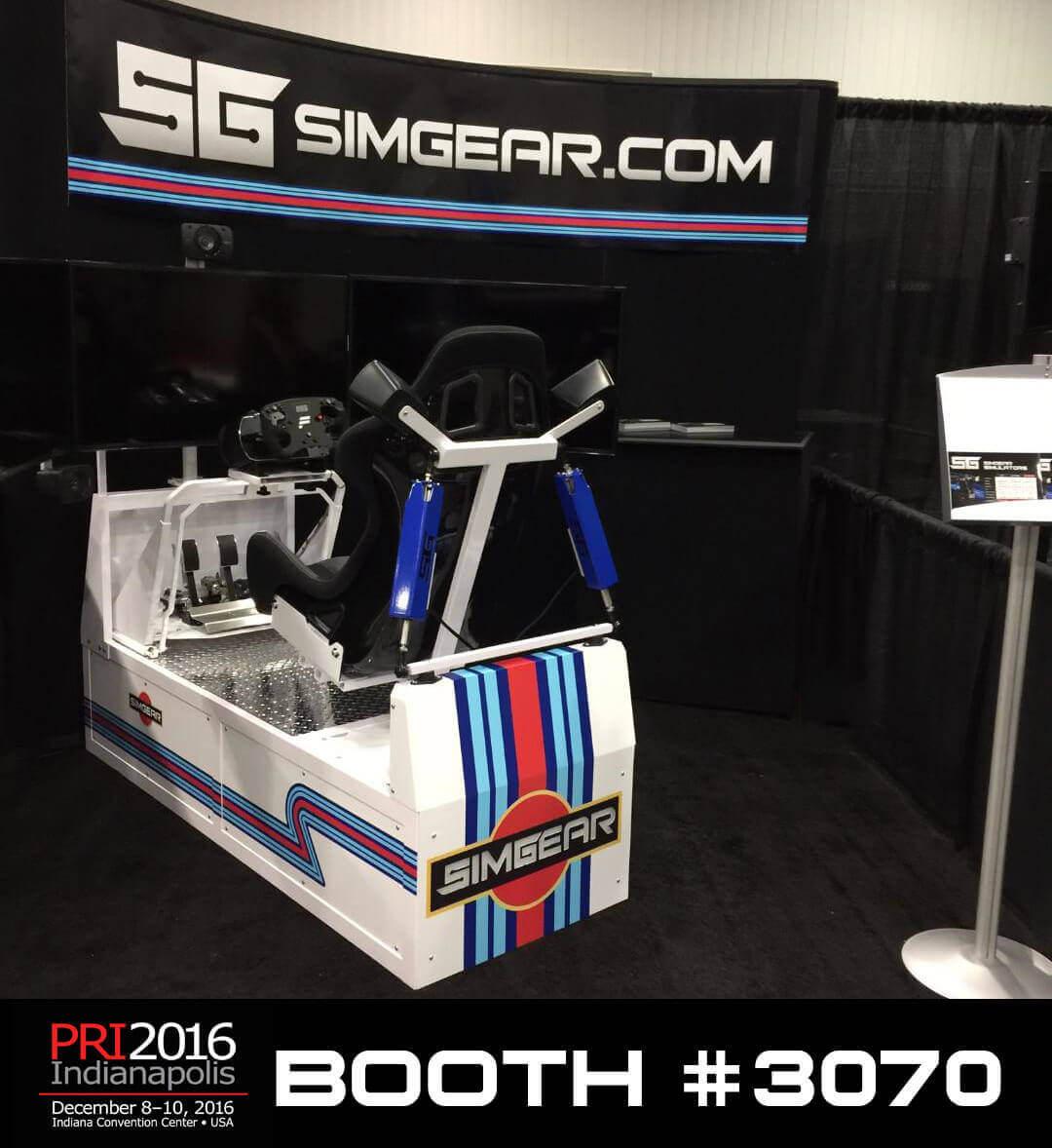 SimGear PRI 2016 Tradeshow